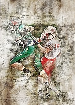 American Football, Sport, Photo Art, Football, Athletes