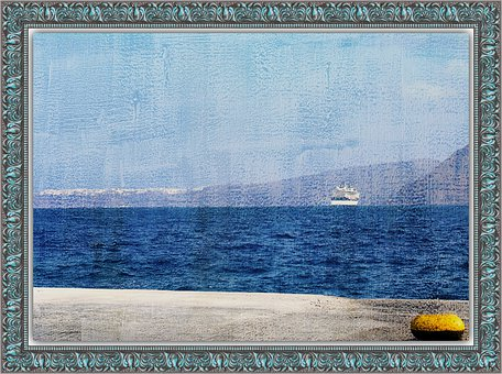 Painting, Frame, Sea, Canvas, Picture, Artistic, Art