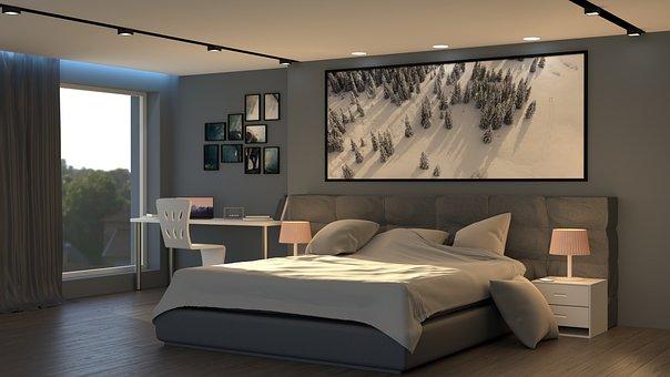 Bedroom, Interior, Furniture, Interior Design
