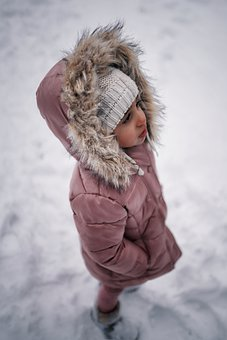 Kid, Girl, Winter, Jacket, Child, Young, Cute, Little