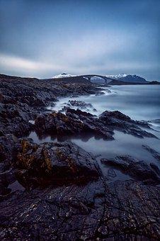 Ocean, Rocks, Shore, Coast, Norway