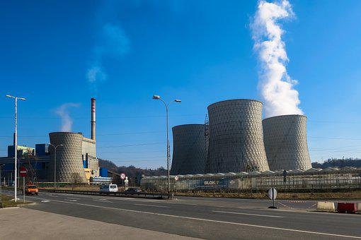 Power Plant, Cooling Towers, Tuzla, Bosnia, Europe