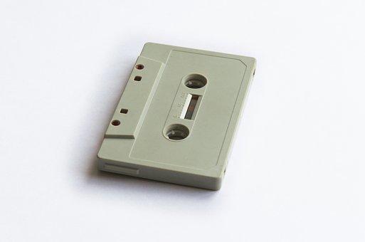 Tape, Cassette, Music, Retro, Audio, Vintage, Sound