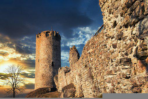 Castle, Ruins, Tower, Fortress, Walls, Castle Ruins