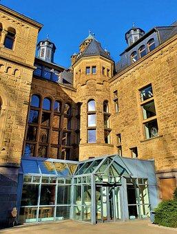 Building, Windows, Entrance, Facade