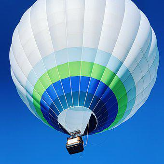 Hot Air Balloon, Ballon, Basket, Flying, Ballooning