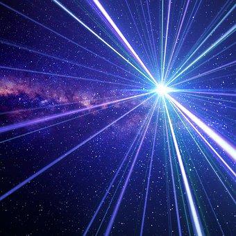 Space, Hyperspace, Spaceship, Speed, Blinding, Stars