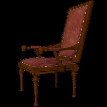 Armchair, Furniture, Vintage, Chair, Design, Cut Out