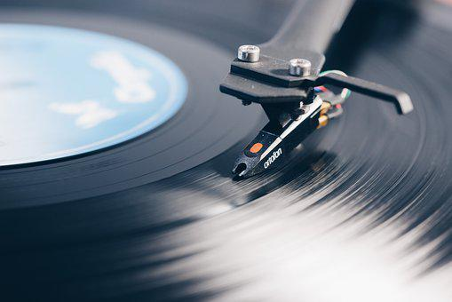 Turntable, Music, Vinyl, Record, Disc, Audio, Hub