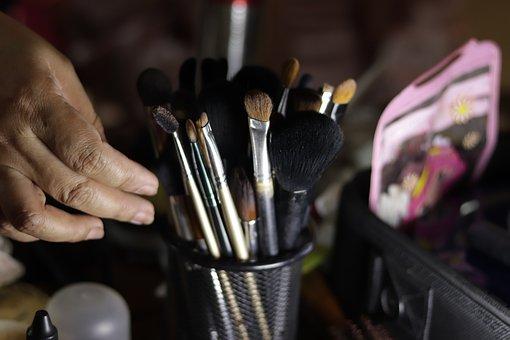Makeup, Artist, Model, Woman, Face, Portrait, Girl