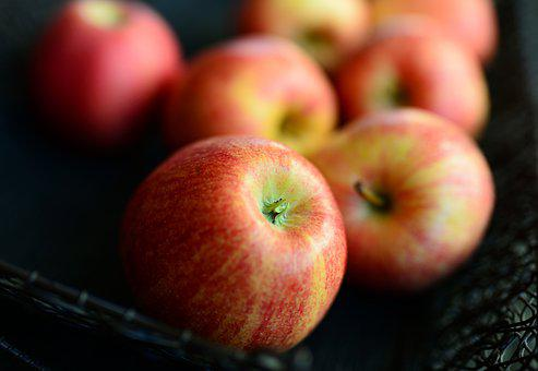 Apples, Fruits, Ripe, Red Apples, Fresh, Harvest