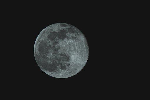 Moon, Full Moon, Luna, Universe, Space, Astronomy