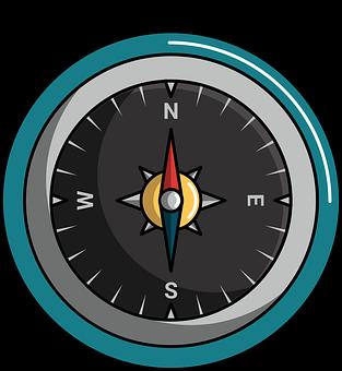 Magnetic, Longitude, Latitude, Metal, Circle, Magnet