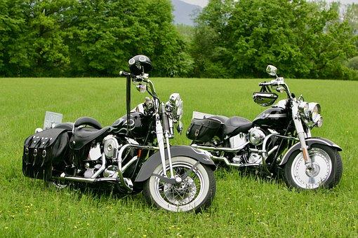 Motorcycles, Motorbikes, Harley, Davidson