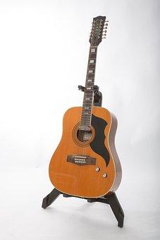 Music, Guitar, Acoustic, Strings