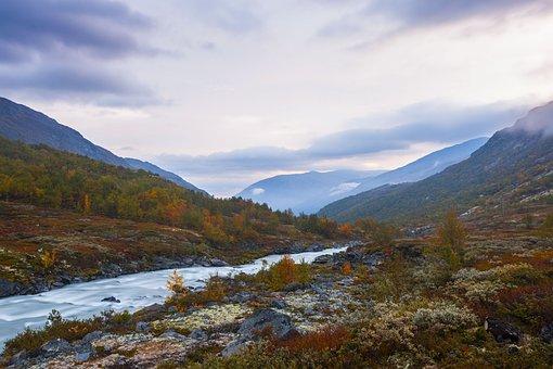 Jotunheimen, National Park, Galdhøpiggen, Norway
