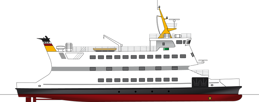 Ship, Steamship, Shipping Company, Ferry, North Sea