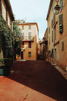 Street, Houses, City, Alley, Pavement, Buildings, Urban