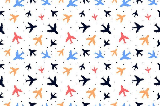 Background, Airplane, Pattern, Plane, Aircraft, Fabric