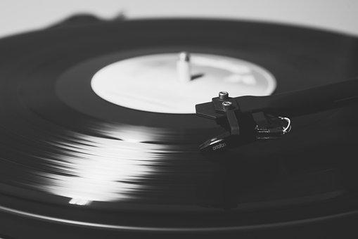 Turntable, Music, Record, Vinyl, Needle, Audio
