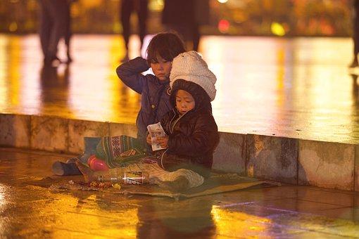 Trẻ Em, Sapa, Vietnam