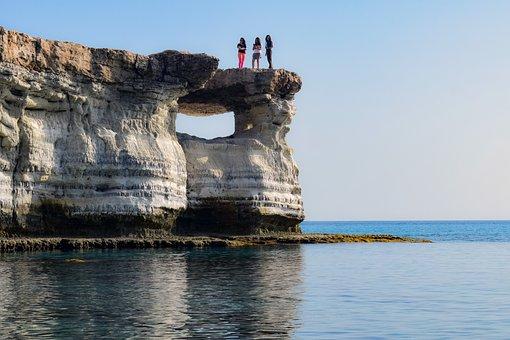 Rock, Cliff, Formation, Nature, Landscape, Sea, Scenery