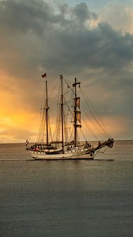 Ship, Sailing, Sea, Ocean, Water, Boat, Shipping