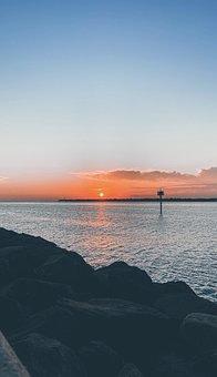 Sunrise, Morning, Nature, Landscape, Scenic, Sunlight