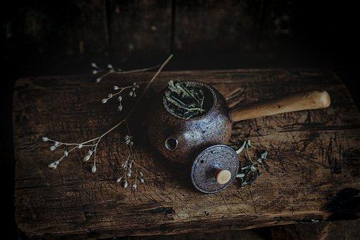 Tea, Tea Leaf, Teapot, Pottery, Healthy, Green Tea
