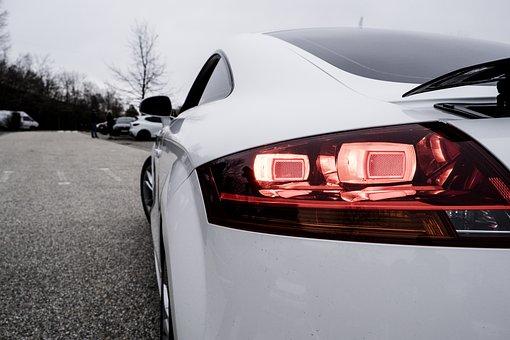 Car, Vehicle, Lamp, Audi, Headlight, Luxury, Technology