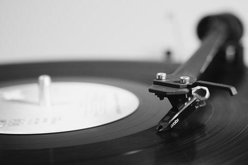 Turntable, Music, Vinyl, Record, Audio, Disc, Hub