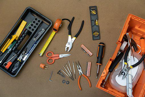 Tools, Work Tools, Work, Construction, Carpenter, Metal