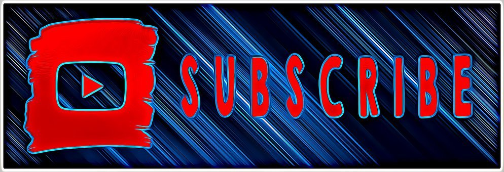 Subscribe, Youtube, Subscription, Button, Video
