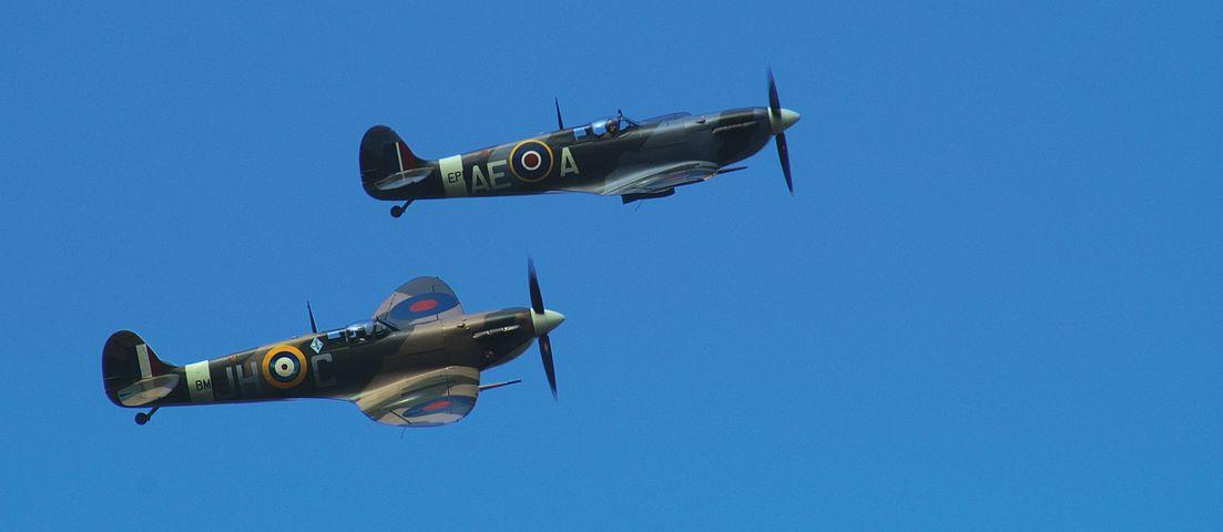 Spitfire, Aeroplane, Airplane, Fighter, War, Plane, Air