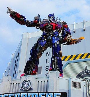 Transformers, Optimus Prime, Car, Convertible