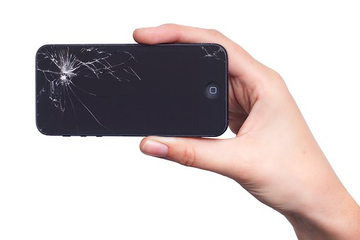 Apple, Iphone, Display, Damage, Broken, Screen