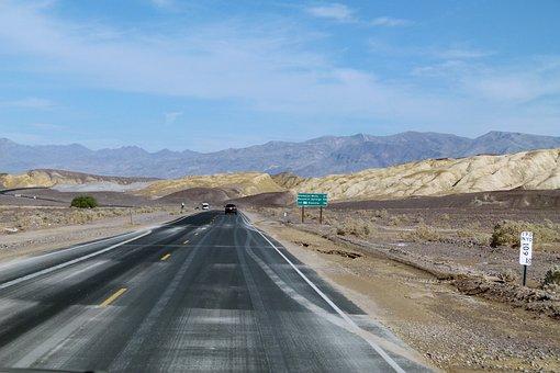 Zabriskie, Zabriskie Point, Death Valley, California
