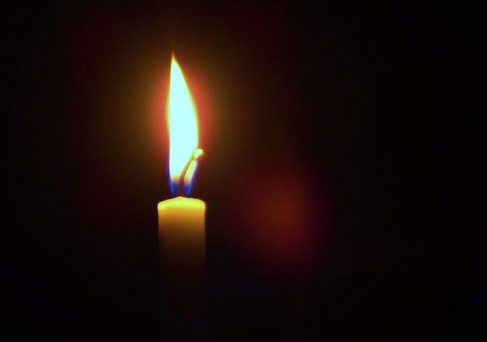 Candle, Light, Dark, Golden, Night, Bright, Decoration