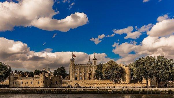 Tower Of London, Tower, London, England, Landmark, City