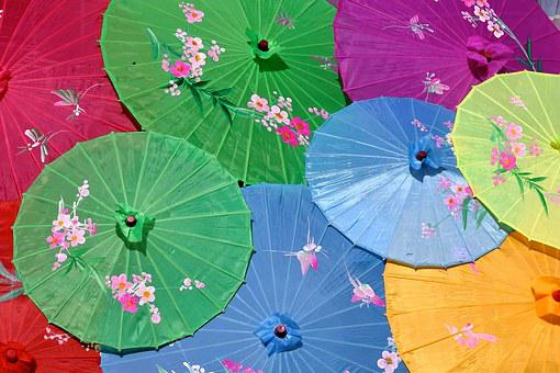 Parasol, China, Asian Umbrella, Asia, Festival