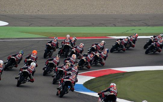 Motorcross, Race, Motorbike, Bike, Motorcycle, Helmet