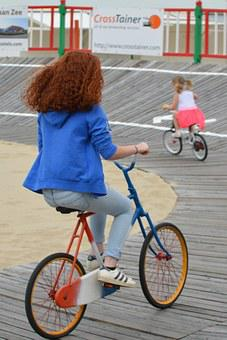 Cycling, Woman, People, Girl, Arena, Bike Track