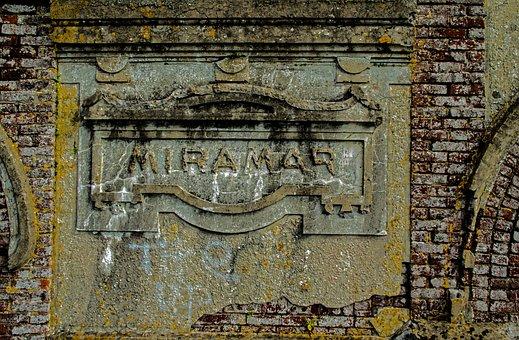Registration, Wall, Pierre, Ruin, Miramar