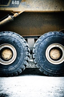 Monster Truck, Mine, Removal, Wheel Loader, Dump Truck