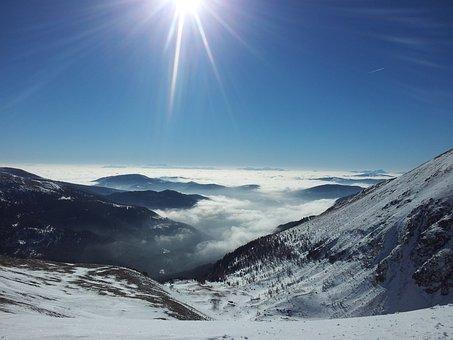 Kornock, Winter, Ski Holidays, Snow, Sun, Nature, Sky