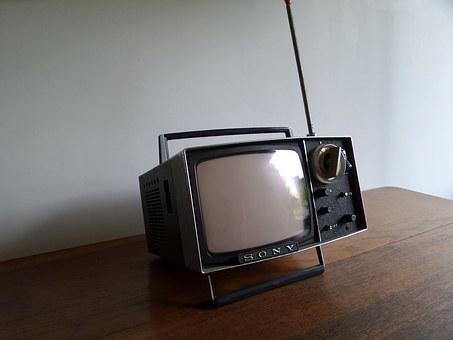 Vintage, Television, Japanese, Sony, Small, Rento