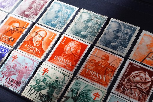 Stamps, Stamp Collection, Collection, Philately, Post