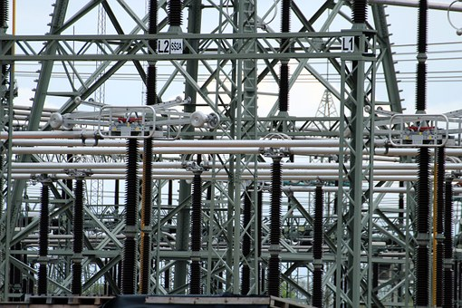 Substation, Transformers, Current, Energy, Electricity