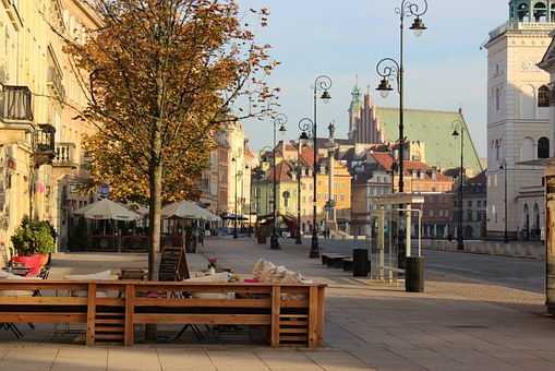 Warsaw, Old, Town, Poland, Travel, Architecture, Europe