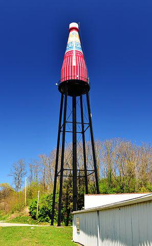 Usa, Route 66, Water Tower, Road, Route, 66, Historic